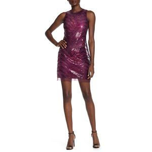 Vince Camuto Sleeveless Sequin Mini Shift Dress